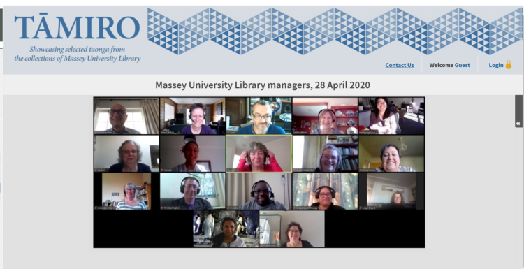Tāmiro Library Managers
