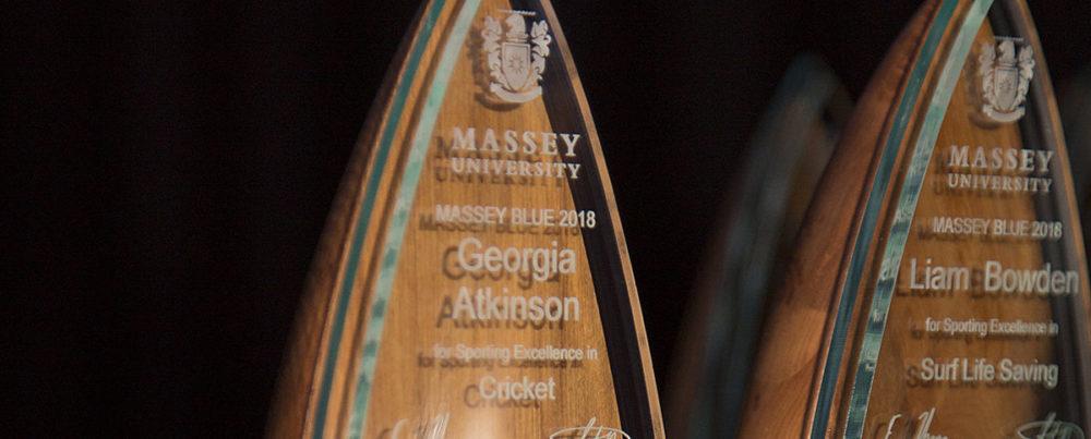 Massey University Blues Sports Awards