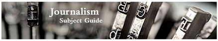 journalism subject guide